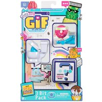 Oh My Gif Animated Figures - 3 Bit Pack (Styles Vary)