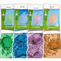 Early Learning Centre Childrens Coloured Play Sand - 4 x 5kg bags