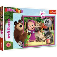 Trefl Masha And The Bear Maxi Puzzle - 24pcs.