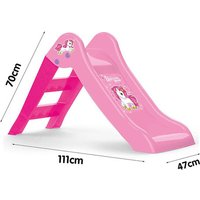 Click to view product details and reviews for Dolu My First Slide Pink Unicorn H70m X L111cm X W47cm.
