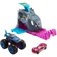 Hot Wheels Monster Trucks Pit and Launch - Team Mega-Wrex