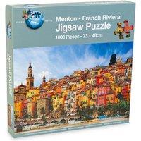 Menton French Riviera Puzzle - 1000pcs.