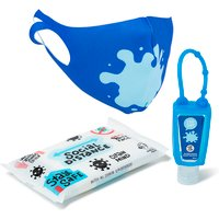 Back To School Stay Safe Pack - Blue