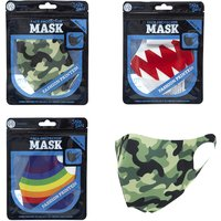 Large Adult Face Protector Mask (Styles vary - one supplied)