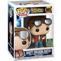 Funko Pop! Movies: Back To The Future - Marty Checking Watch (UK Exclusive)
