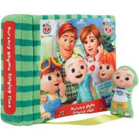 CoComelon Nursery Rhyme Singing Time Plush book