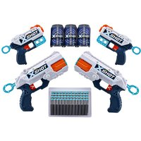 Click to view product details and reviews for X Shot 6 Foam Dart Blaster 48 Darts 3 Cans By Zuru.