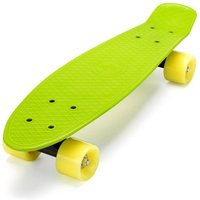Click to view product details and reviews for Xootz Kids Retro Plastic Complete Cruiser Skateboard With Led Wheels Green.