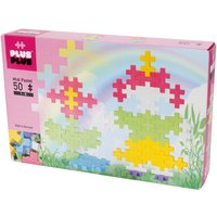 Plus-Plus - BIG Pastel Little Girl and Flower Kit