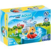 Playmobil 70268 1.2.3 Aqua Water Wheel Carousel Playset
