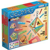 "Geomag Confetti Magnetic Construction Set aEUR"" 32pc"