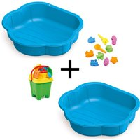 Sand and Water Play Pit Bundle - Blue