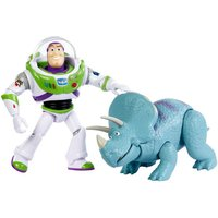Disney Pixar Toy Story - Buzz Lightyear & Trixie Figures