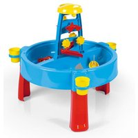 Dolu Kids 3-in-1 Sand and Water Pit with Drawing Table Outdoor Toys Garden Multi function Play Station Desk Colouring
