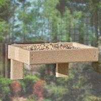 Woodlook Window Tray Bird Feeder