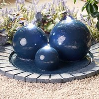 Serenity Large Bowl with Three Spheres Water Feature