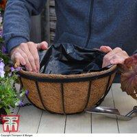 Garden Grow Hanging Basket and Liner