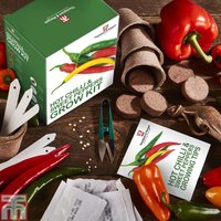 Red Hot Chilli & Sweet Peppers Growing Kit