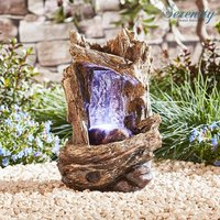 Serenity Table-top Tree Trunk Waterfall Water Feature