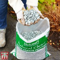 Decorative Green Granite Chippings Aggregate
