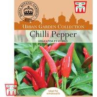 Chilli Pepper Krakatoa F1 Hybrid (Hot)- Kew Collection Seeds