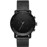 MVMT MC01-BL Chrono Black Leather 45mm 10ATM - Angebote