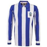 'Huddersfield Town 1950s Retro Football Shirt
