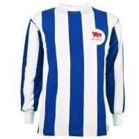 'Huddersfield Town 1960s Retro Football Shirt