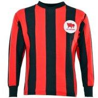 'Huddersfield Town 1960s Away Kids Retro Football Shirt