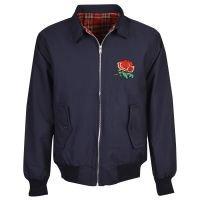 England Rugby Navy Harrington Jacket