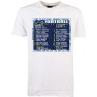 '1987 Fa Cup Final (coventry City) Retrotext T-shirt - White