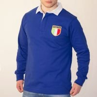 Italy 1975 Vintage Home Rugby Shirt