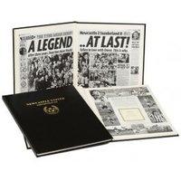 Newcastle United Football Newspaper Book