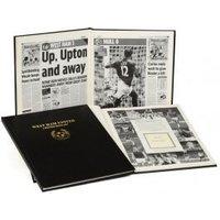 West Ham United Football Newspaper Book