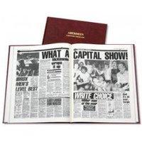 Aberdeen Football Newspaper Book