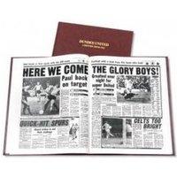 Dundee United Football Newspaper Book