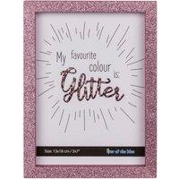 Fotolijst Roze Glitter 13X18 Cm