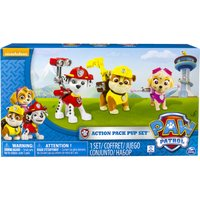 Paw Patrol Action Pack 3 Pack Marshall, Rubble, Skye