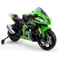 Accu Motor Injusa Kawasaki ZX10 Ninja 12V Met Licht En Geluid