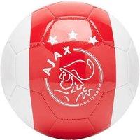 Bal Ajax Wit Rood Wit Met Kruizen Maat 5