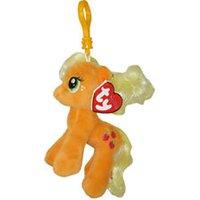 Sleutelhanger Ty Beanie My Little Pony Apple Jack 10cm