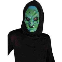 Disfraz Adulto - Máscara Bruja con Capucha