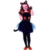 Disfraz Infantil - Gatita Negra 3-4 años