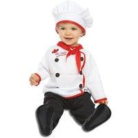 Disfraz Bebé - Cocinero 7-12 meses