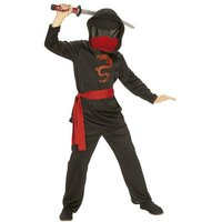 Disfraz Infantil - Ninja Sin Rostro Negro 5-6 años