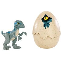 Jurassic World - Velociraptor Azul - Dino Recién Nacido