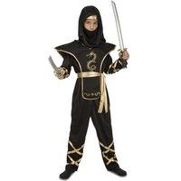 Disfraz Infantil - Ninja Negro Largo 10-12 años