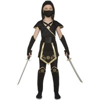 Disfraz Infantil - Ninja Negro Corto 5-6 años
