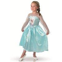 Frozen - Disfraz Infantil Clásico Elsa 5-6 Años