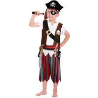 Disfraz Infantil con Accesorios Pirata 3-6 años